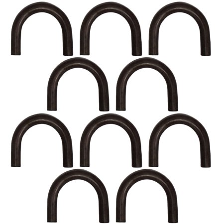 """(10) 1/2"""" Thick Steel Rope Chain Tie Down Truck Trailer Weld-on Hook D Ring"""