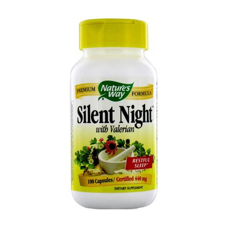 Natures Way Silent Night Avec valériane 440 mg - 100 Ea