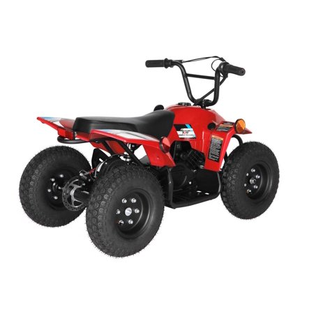 T4B SPARK Mini ATV 250W Brushless Electric KIDS Dirt Quad, 24V13.7Ah, All Terrain, Recreational Outdoors, Off-Road, 3-6 y.o. - Red - image 11 de 11
