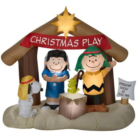 Airblown Peanuts Nativity Scene (Nativity Costume Ideas)