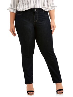 78bb672a00b Product Image Women s Plus-Size 5 Pocket Stretch Jean