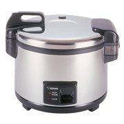Zojirushi 20-Cup (Uncooked) Commercial Rice Cooker and Warmer (Stainless Steel) by Zojirushi