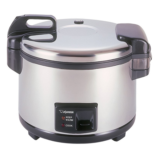 Zojirushi 20-Cup (Uncooked) Commercial Rice Cooker and Warmer (Stainless Steel)