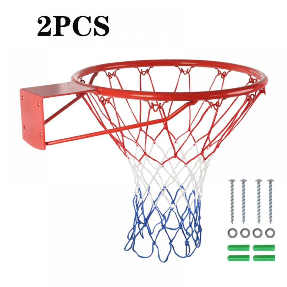 Spalding basketball net designed for outdoor fits standard rims all weather