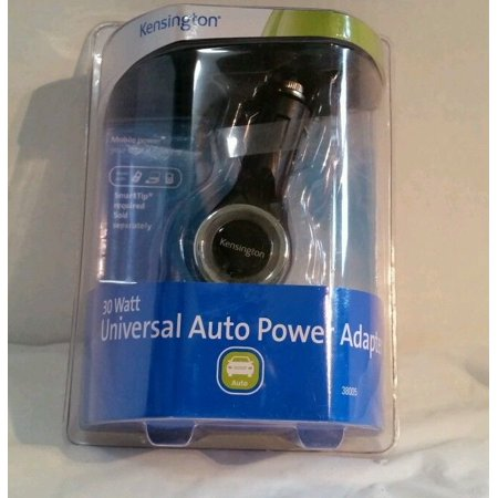 Kensington 30 Watt Universal Auto Power Adapter -