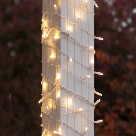 wintergreen lighting 150 led christmas column wrap light walmart com
