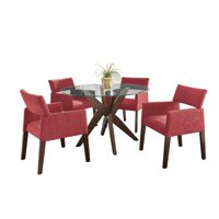 Steve Silver Co. Amalie 5 Piece Dining Table Set