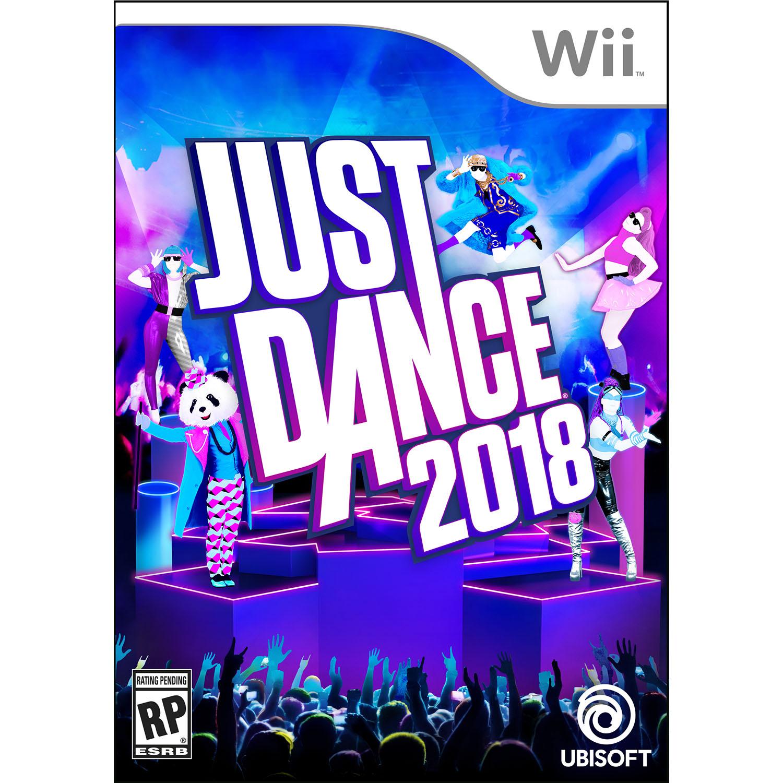 Just Dance 2018, Ubisoft, Nintendo Wii, Preowned/Refurbished