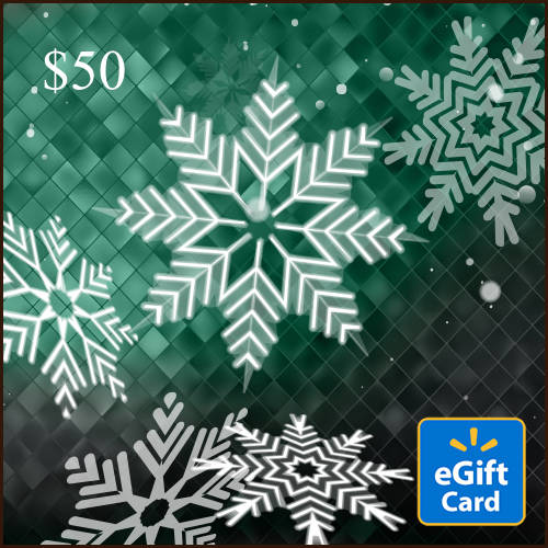 Snowflake $50 eGift Card