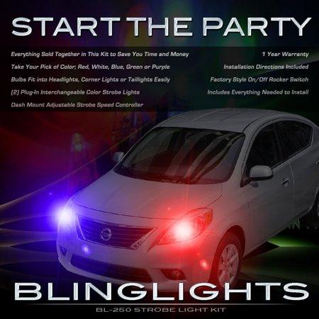 Nissan Versa Sedan Xenon Tail or Head Lamps Strobe Light Kit