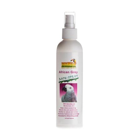Mango Pet African Grey Bath Spray-Case of 12 (Pet Bats)