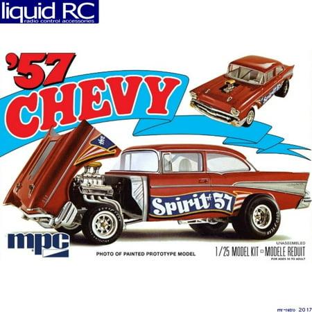ROUND 2, LLC MPC 1 25 1957 Chevy Flip Nose Spirit of 57, - 57 Chevy Led