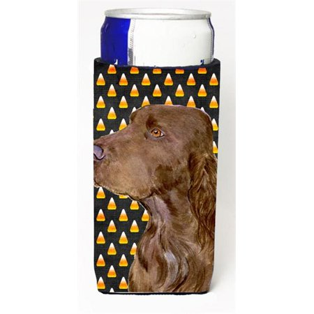 Field Spaniel Candy Corn Halloween Portrait Michelob Ultra s For Slim Cans - 12 oz.