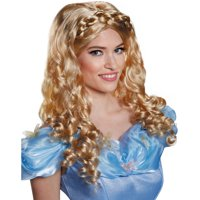 Cinderella Movie Adult Wig Adult Halloween Accessory