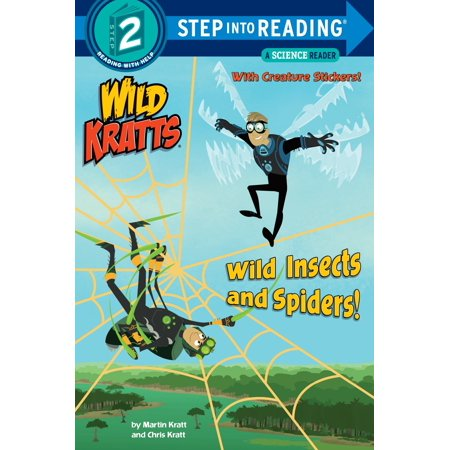Wild Insects and Spiders! (Wild Kratts) (Wild Kratts Walk On The Wet Side)