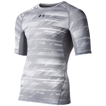 bfab637480a Under Armour Apparel - Under Armour Men s HeatGear Armour Printed Short  Sleeve Compression Shirt