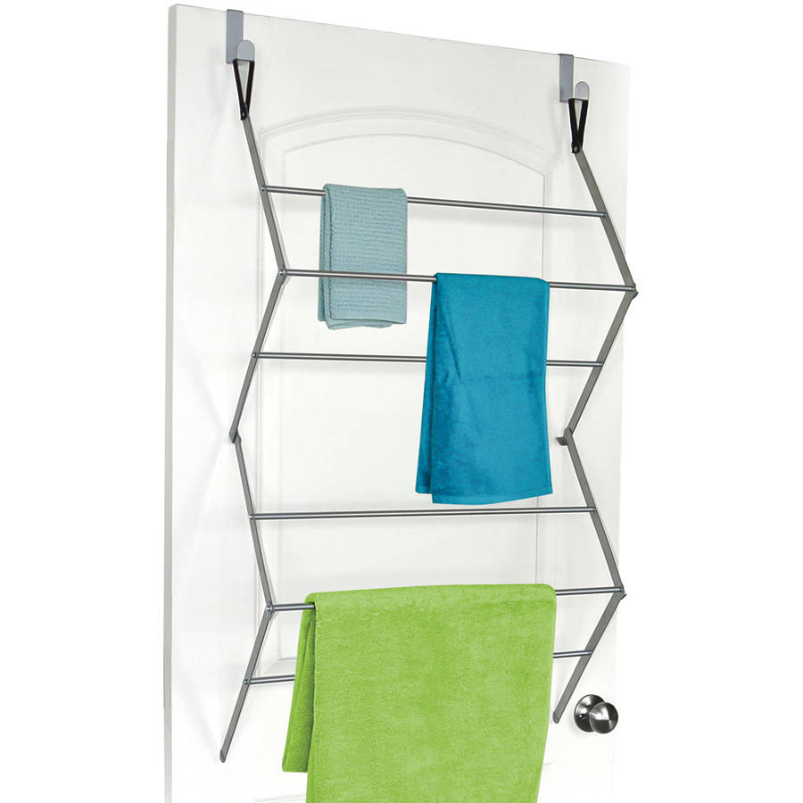 Homz Over-the-Door Metal Garment Drying Rack