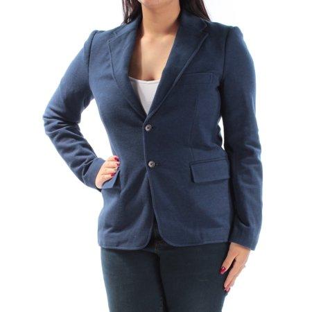 RALPH LAUREN Womens Navy Blazer Wear To Work Jacket  Size: 12 ()
