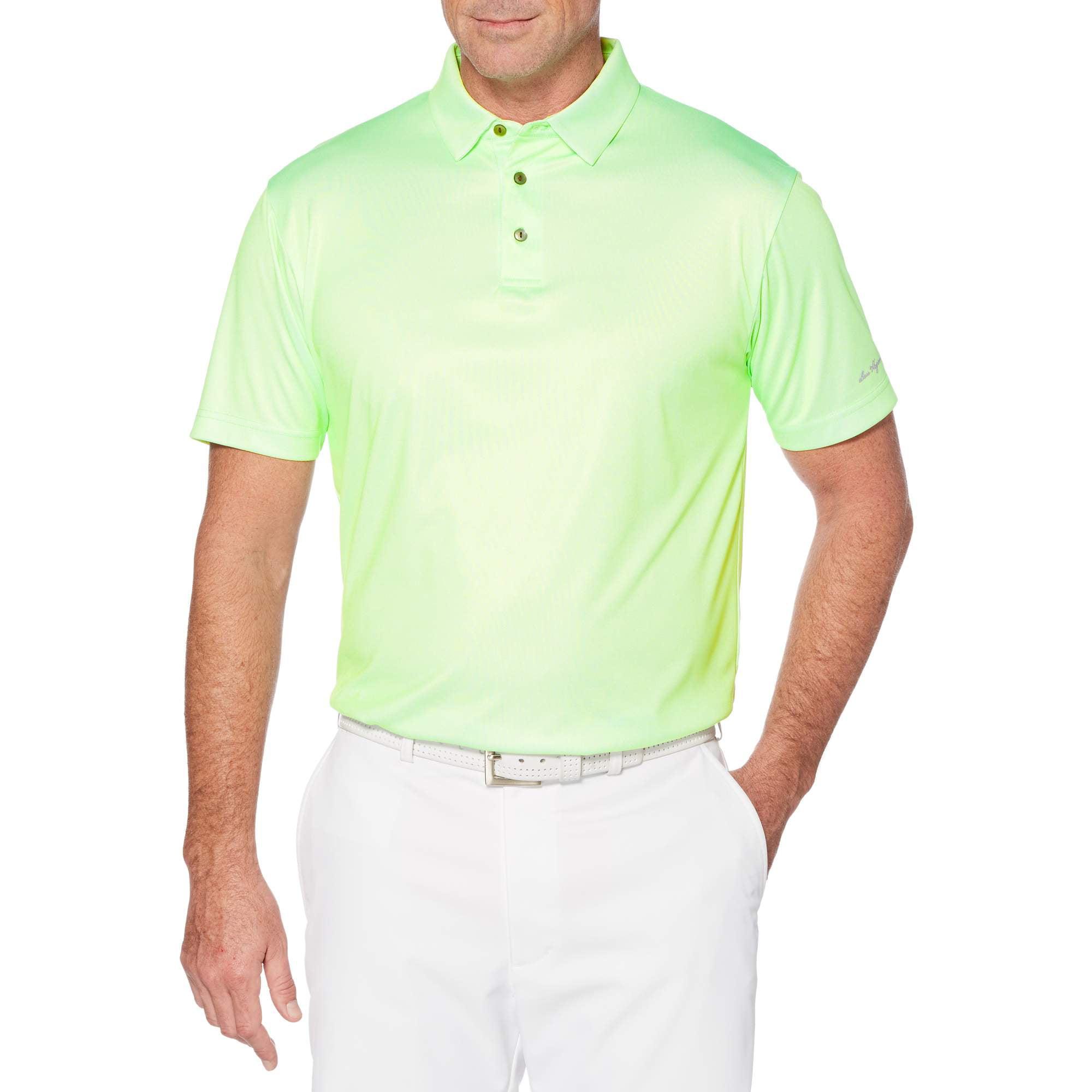 Men's Performance Short Sleeve Printed Polo Shirt
