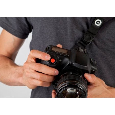 Custom SLR ProDot Shutter Button Upgrade (Red. 2 Pack) - Perfect Alternative to Soft Shutter Release Buttons