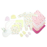 Bambini Newborn Baby Shower Layette Gift Set, 15pc (Baby Girls)