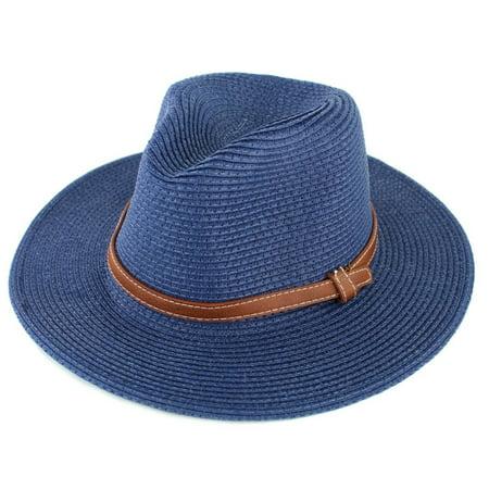 Panama Straw Hat, Made Indiana Jones Style, Sun Hats Summer Wide
