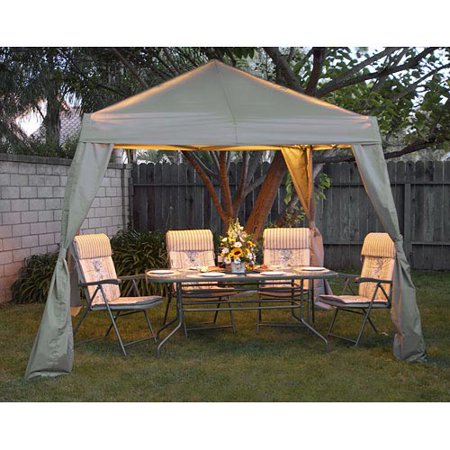 Variflex Quik Shade 10 X Instant Canopy With Lights