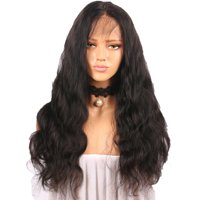 〖Follure〗Curly Wig Glueless Full Lace Wigs Black Women Indian Remy Human Hair Lace Front