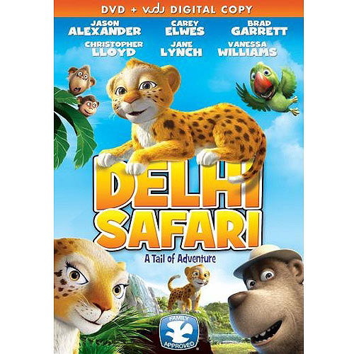 Delhi Safari (DVD + VUDU Digital Download) (Walmart Exclusive) (Widescreen)