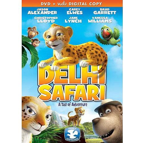 Delhi Safari (DVD + VUDU Digital Download) (Walmart Exclusive) (Widescreen)