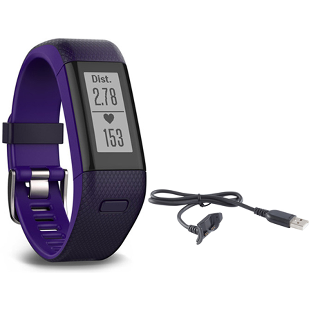 Garmin Vivosmart HR+ Activity Tracker Bundle, Regular Fit...