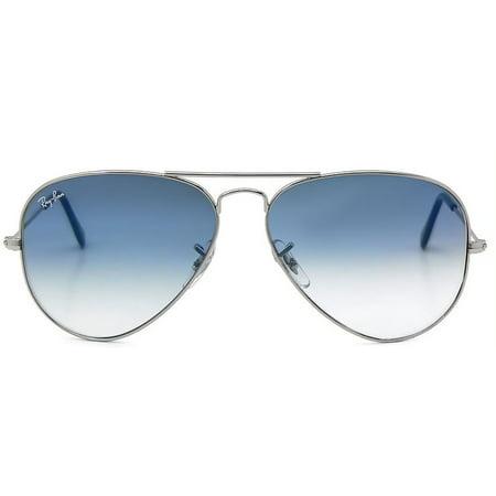 511a328ac Ray-Ban - Ray-Ban Aviator Large Metal Sunglasses RB3025-003/3F-62 -  Walmart.com