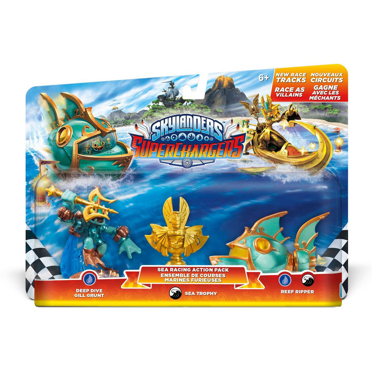 Skylanders Superchargers Racing Sea Pack (Universal)