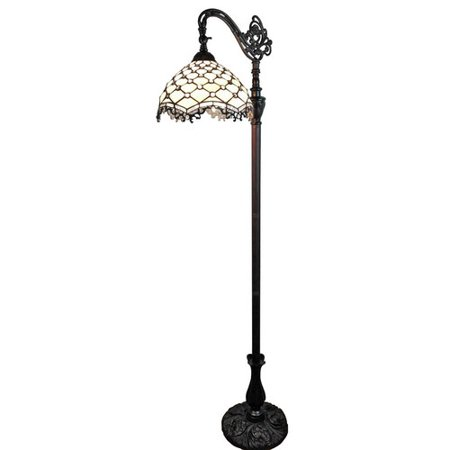 Jeweled Stick (Amora Lighting  AM122FL12 Tiffany Style Jeweled Reading Floor)