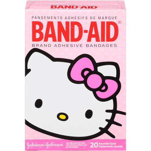 Band-Aid Brand Hello Kitty Assorted Adhesive Bandages, 20 count
