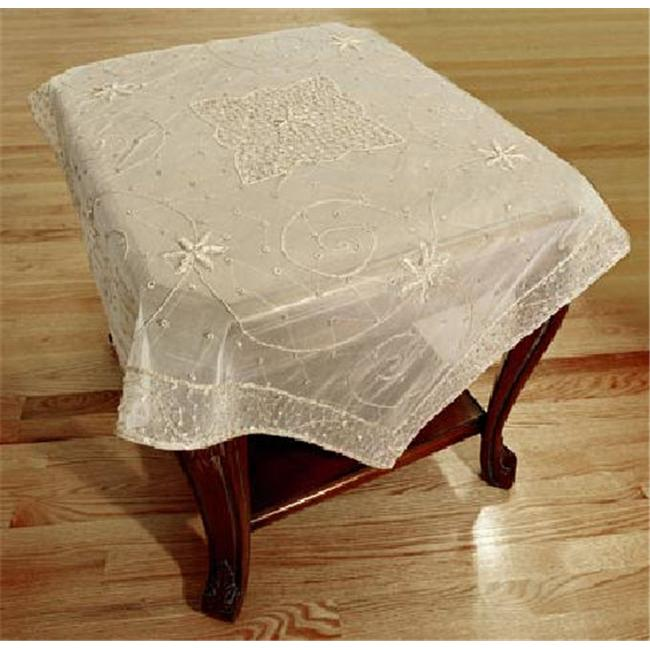 In Creation IS 14 Zarri Embroidered Square Table Cloth