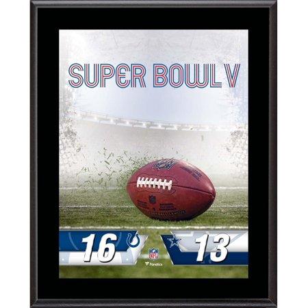 Baltimore Colts vs. Dallas Cowboys Super Bowl V 10.5