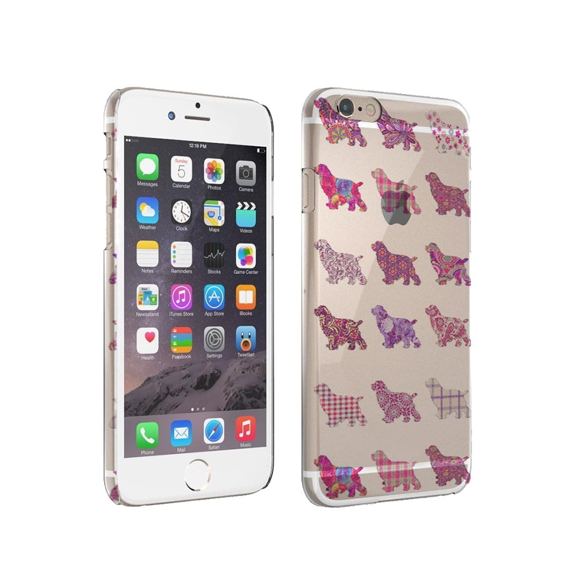 KuzmarK iPhone 6 Clear Cover Case - Cocker Spaniel Dog