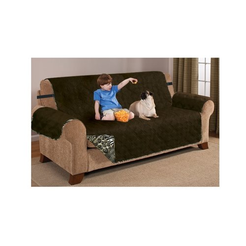 Bloomsbury Market Printed T-Cushion Sofa Slipcover by
