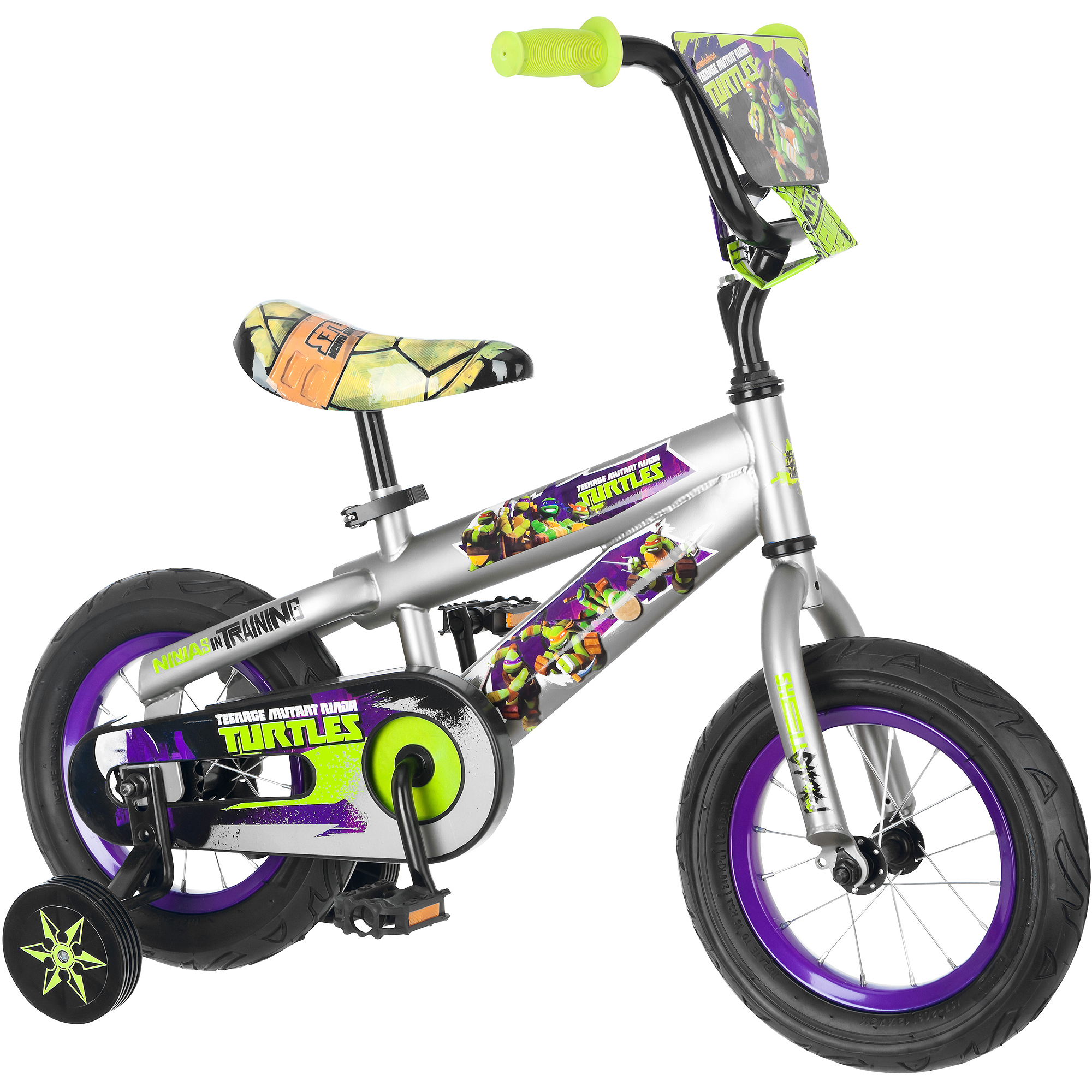"12"" Teenage Mutant Ninja Turtles Boys' Bike"