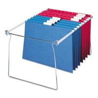 """Smead Hanging Folder Frame Letter Size 23-27"""" Long Steel 2/Pack 64872"""