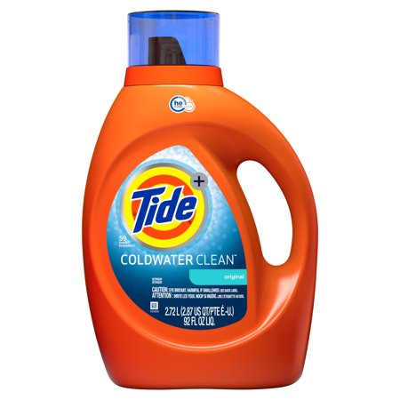 Coldwater Clean Fresh Scent HE Turbo Clean Liquid Laundry Detergent, 92 oz., 59 loads Biokleen Cold Water