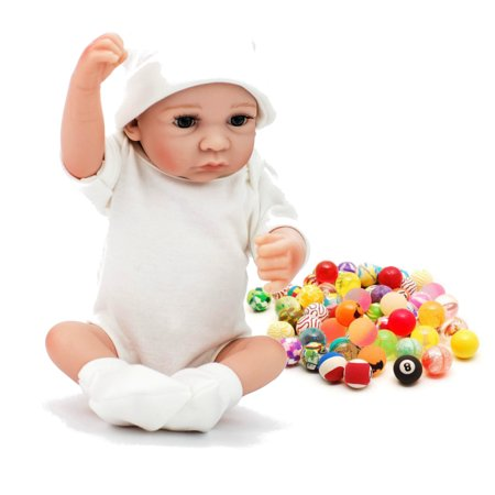 11'' High Quality Moveable Silicone Newborn Reborn Baby Dolls Lifelike Realike Vinyl Alive Baby Doll for Toddler Kids - image 8 of 10
