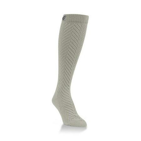 World's Softest Socks - Everyday Collection - Fancy Knee-Hi - Sand Dune