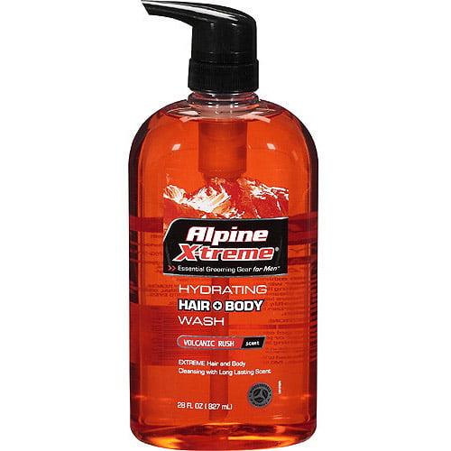 Alpine Xtreme Hydrating Hair + Body Volcanic Rush Wash, 28 Oz