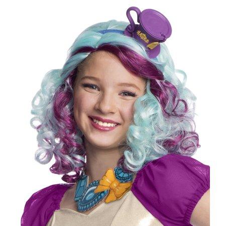 Madeline Hatter Child Costume Wig R52884 - Madelyn Hatter