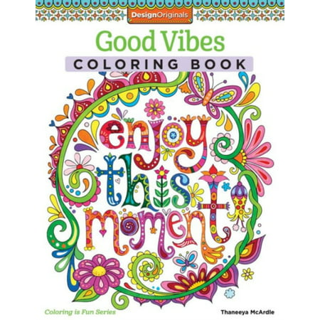 Good Vibes Coloring Book - Wildflowers Coloring Book