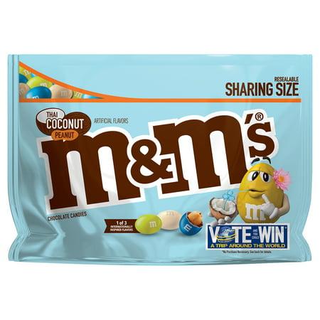 M&M'S Thai Coconut Peanut Chocolate Candy Flavor Vote 9.6-Ounce - M&m Lightsaber