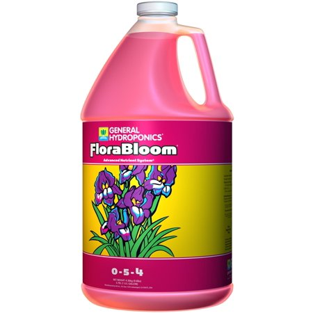 GENERAL HYDROPONICS (1) Gallon of FloraBloom Liquid Plant Grow Formula | GH1433 (General Hydroponics Liquid)