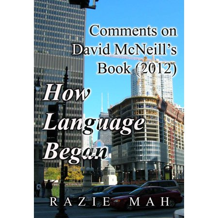 Comments on David McNeill's Book (2012) How Language Began - eBook](How Halloween Began)